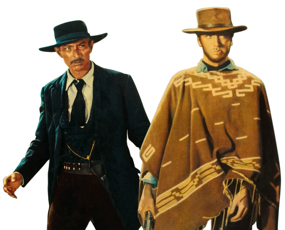Western Route Clint Eastwood Lee Van Cleef